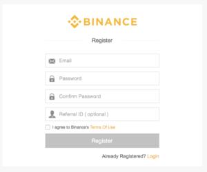 come funziona binance exchange
