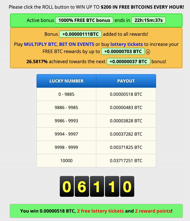 bitcoin gratis faucet