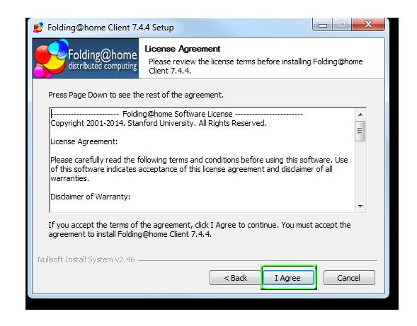 condizioni e licenza programma mining folding