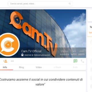 Cam.tv social