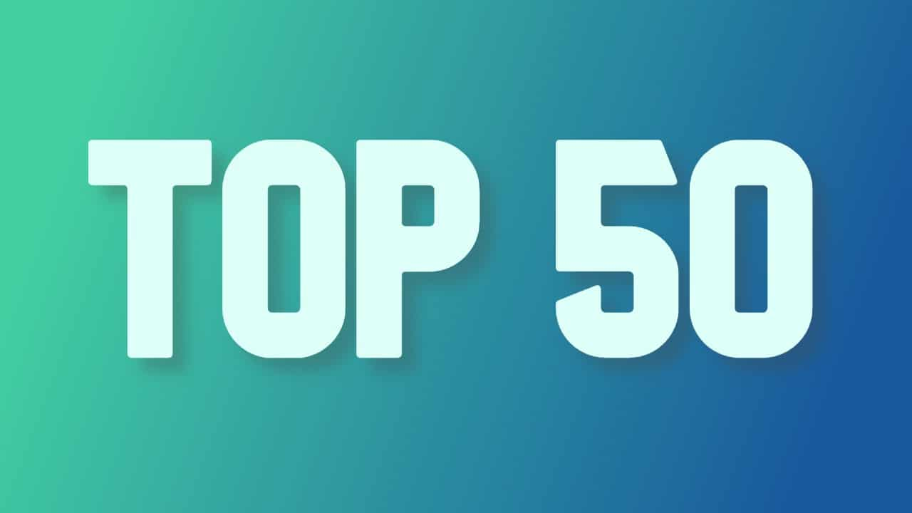top 50 cryptocurrency
