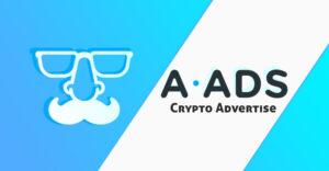 A-ADS - Anonymus Cryoto ADS