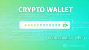 wallet per criptovalute e token
